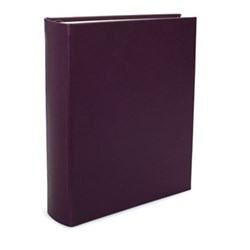 Chelsea Portrait photo album, 31.1 x 24.1cm, cyclamen leather