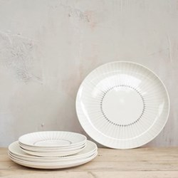Pair of dinner plates 25.5cm