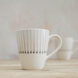 Set of 4 mugs H10.5cm