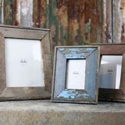 "Malu Photograph frame, 4 x 6"", reclaimed wood"