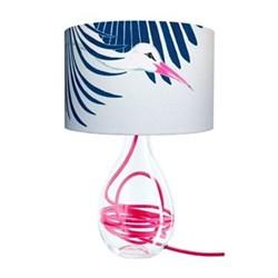 Snow Peak Unbound Medium lamp, H47cm, raspberry flex