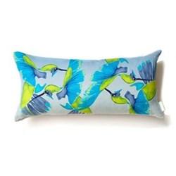 Sipping nectar Bolster cushion, 58 x 28cm, linen