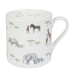 On Safari Mug, 9cm high