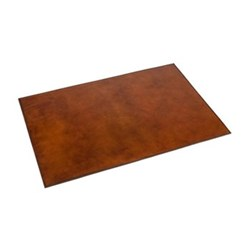 Leather Desk mat, 40 x 60cm, tan