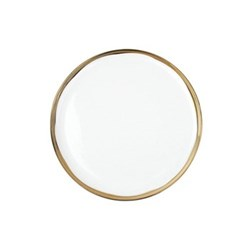 Dauville Set of 4 side plates, 14cm, gold glaze