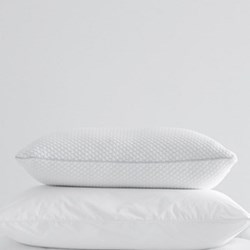 Memory Foam Comfort Pillow, 50 x 75cm, white