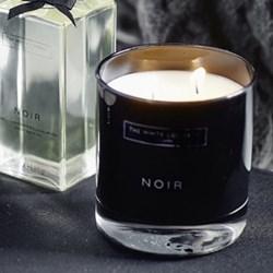 Noir Scented candle, H9 x D10 x L10cm