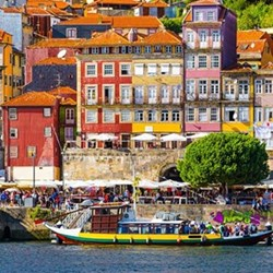 Three night port wine tasting getaway for two in Oporto