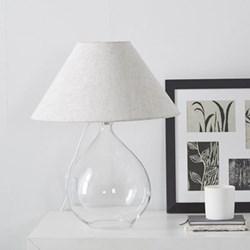 Teardrop table lamp H50 x W40cm