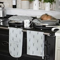 Double oven glove 84 x 18cm