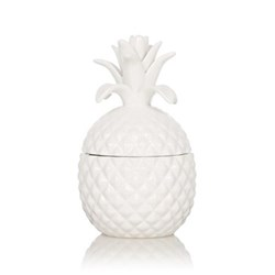 Three Wick Coveted candle, 21 x 12.5cm, white
