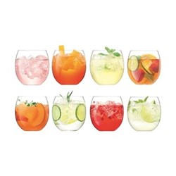 Balloon Set of 8 tumblers, 45cl, clear