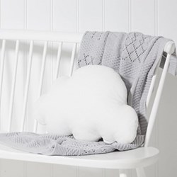 Cloud Cushion, W30 x L47cm, white