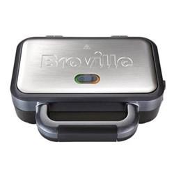 VST041 Deep fill sandwich toaster, 2 slice , graphite & stainless steel