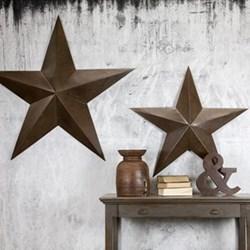 Industrial Metal star - large, 123 x 123 x 11cm, iron
