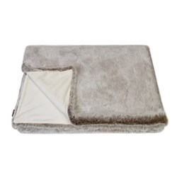 Classic Collection Double throw, 180 x 145cm, latte