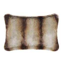 Classic Collection Cushion, 30 x 45cm, brown chinchilla