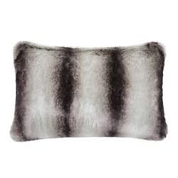 Classic Collection Cushion, 30 x 45cm, grey chinchilla