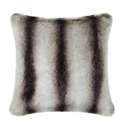 Classic Collection Cushion, 40 x 40cm, grey chinchilla