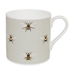 Bees Coloured Mug, 425ml