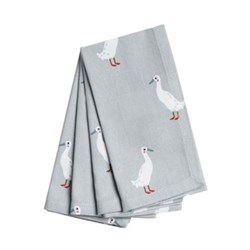 Runner Duck Set of 4 napkins, 41 x 41cm