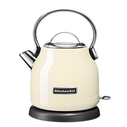 Traditional Dome kettle, 1.25 litre, almond cream