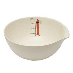 Dachshund Mixing bowl, 32.2 x 13.5cm