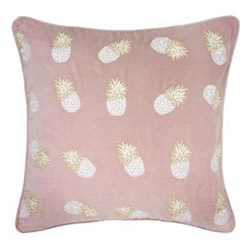 Ananas Cushion, 45 x 45cm, velvet/soft lilac