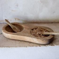Salt and pepper bowl 2.5 x 19 x 10cm