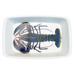Blue Lobster Roasting dish, 39cm