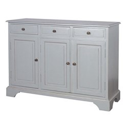 Provence Sideboard with 3 doors, 85 x 115 x 40cm