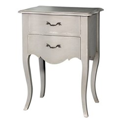 Bedside table with 2 drawers 77 x 56 x 40cm