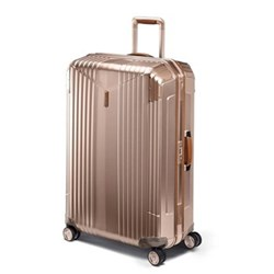 7R Master Spinner suitcase, 55 x 40 x 22cm - 38 litre, rose gold