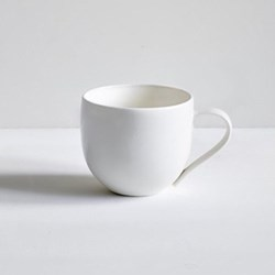 Simple Mug, plain porcelain