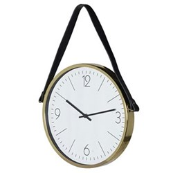 Wall clock with strap 50 x 33 x 40