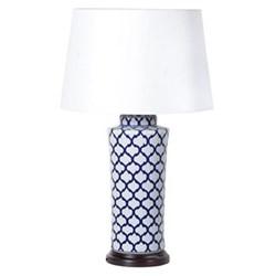Jar lamp with shade 74 x 42 x 42cm