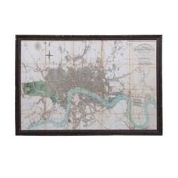 River Thames Framed print, 92 x 132cm