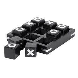 Noughts and crosses set 50 x 18 x 18cm