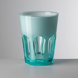 Double Face Acrylic highball, 11cm, turquoise