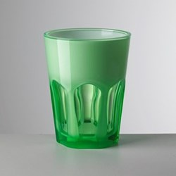 Double Face Acrylic highball, 11cm, green