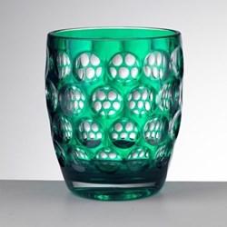 Lente Short Acrylic tumbler, 11cm, green