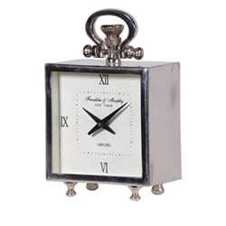 Square mantel clock 25 x 15cm
