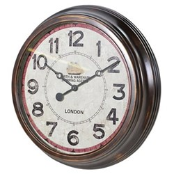 Round wall clock 64cm