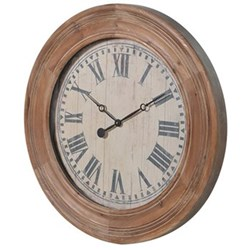 Large round wall clock 78cm