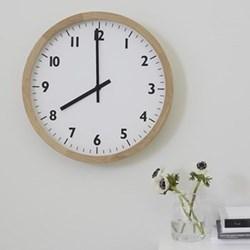 Wall clock W46 x D6.3cm