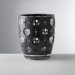 Super Star Acrylic tumbler, 11cm, black