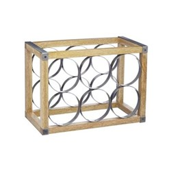 Industrial Kitchen Wine rack, 34 x 17.5 x 24.5cm
