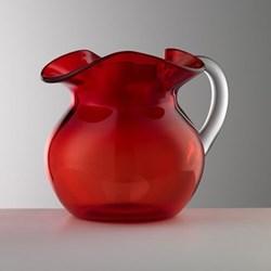 Maria Acrylic jug, 0.75 litre, red