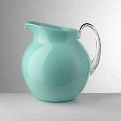 Palla Acrylic jug, 3 litre, aquamarine