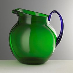 Pallina Acrylic jug, 1.6 litre, green/blue